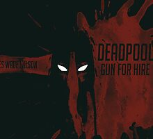 Deadpool - Gun for Hire by Kevinraayy