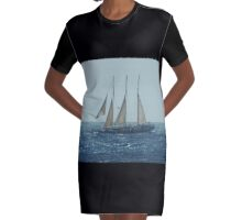 With a fair wind Graphic T-Shirt Dress