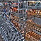 Hauptbahnhof Berlin by pdsfotoart