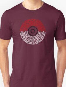 Pokeball Lyrics T-Shirt