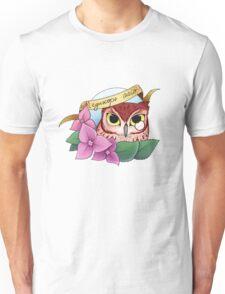 Screech Owl Cameo Unisex T-Shirt