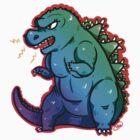 Godzilla! by toastwaboot