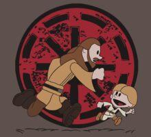 Lets Be Jedi (Qui Gon & Anakin EP1) by leidemera