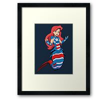 Ocean Patriot Framed Print