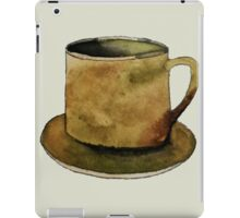 Mug on Plate iPad Case/Skin
