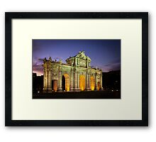 The Arc in Madrid Framed Print