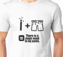 Magic wand in my pants Unisex T-Shirt