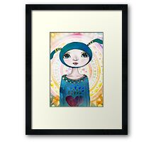 Critter Collection - Divine being Framed Print