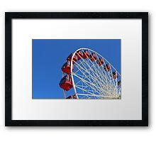 The Freemantle Ferris Wheel Framed Print