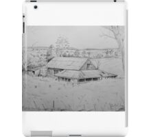 Wool shed , Spring plains , Mia Mia  iPad Case/Skin