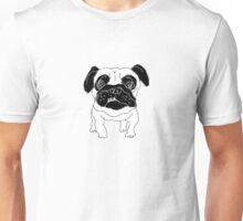 pug sketch Unisex T-Shirt