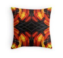 The Flame Pillow Design Throw Pillow