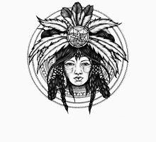 american indian girl Unisex T-Shirt