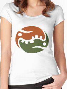 Zippleback Emblem Concept Tee Women's Fitted Scoop T-Shirt