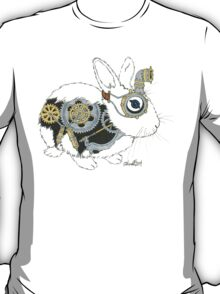 Daily Doodle 33 - Robot - Steampunk Bunny -Elvis T-Shirt