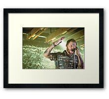 Volcano Choir - Justin Vernon Framed Print