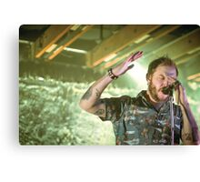 Volcano Choir - Justin Vernon Canvas Print