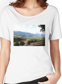 The mountains of Abruzzo Women's Relaxed Fit T-Shirt