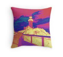 Byron Bay Lighthouse Cushion  Throw Pillow