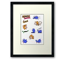 Sinoc the Hodgeheg Framed Print