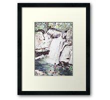 Little Crystal Creek, Paluma Framed Print