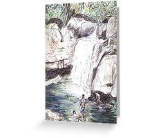 Little Crystal Creek, Paluma Greeting Card