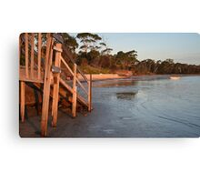 scenic evening view Pittwater Canvas Print