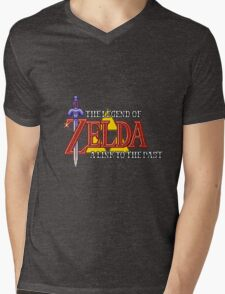 Zelda: A link to the past intro Mens V-Neck T-Shirt