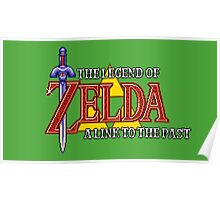 Zelda: A link to the past intro Poster