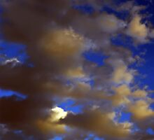 ©HCS The Sunset Ligth In Clouds IA by OmarHernandez
