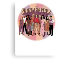 Shiny Friends Canvas Print