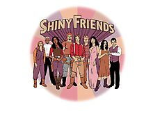 Shiny Friends Photographic Print