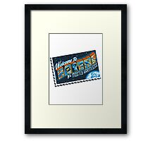 Mostly Harmless Framed Print