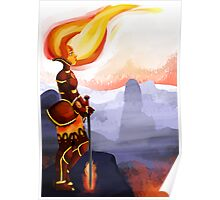 Warrior Flame Princess Poster