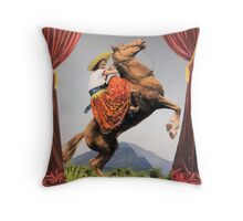 In the Valley of the Pyramid Throw Pillow