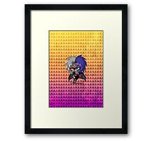 Chibi Yubel Framed Print