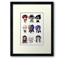 Chibi Triclops Framed Print