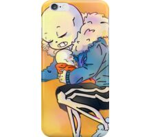 Sans & Baby Papyrus iPhone Case/Skin