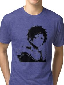 Izaya black and white Tri-blend T-Shirt