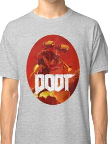 Doot Toot (Doom Shirt) Style #3 Classic T-Shirt