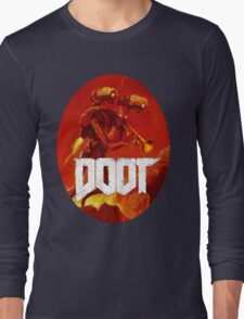 Doot Toot (Doom Shirt) Style #3 Long Sleeve T-Shirt