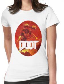 Doot Toot (Doom Shirt) Style #3 Womens Fitted T-Shirt