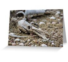 Dead beasts Greeting Card