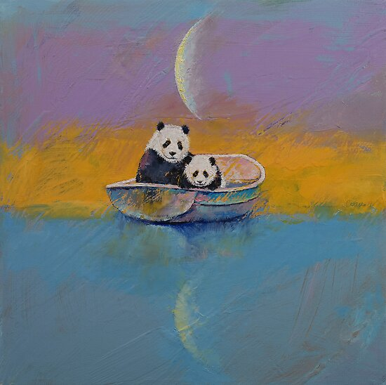 Panda Lake by Michael Creese