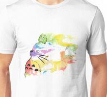 rainbow painting totoro Unisex T-Shirt