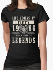 1966 Womens Fitted T-Shirt