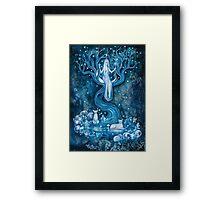THE PRIESTESS Framed Print