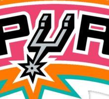 SA spurs logo Sticker