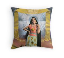 Lady of Miracles Throw Pillow