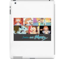 Jessica and Morty iPad Case/Skin